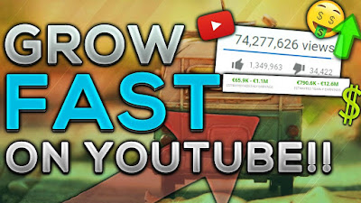 Grow Fast on YouTube