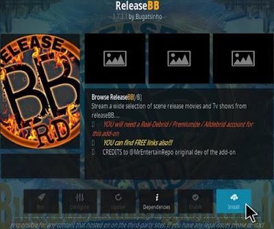 Release BB Addon - How To Install Release BB Kodi Addon Repo
