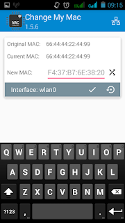 Cara Ganti MAC Address Wifi Android Tanpa PC (Sementara)
