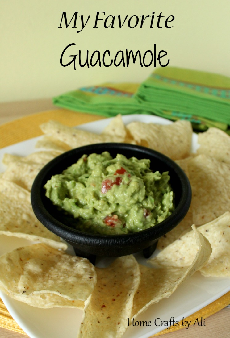 recipe favorite guacamole mexican food cinco de mayo dip chips