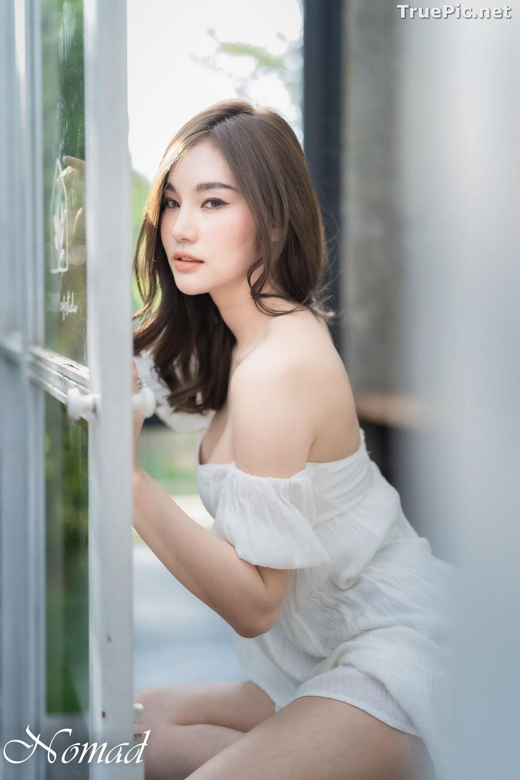 Image Thailand Model - Jarunan Tavepanya - Beautiful In Black and White - TruePic.net - Picture-1