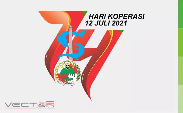 Hari Koperasi Nasional (Harkopnas) 2021 Logo - Download Vector File CDR (CorelDraw)
