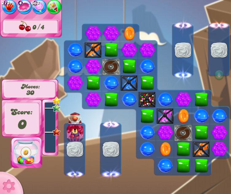 Candy Crush Saga level 2709