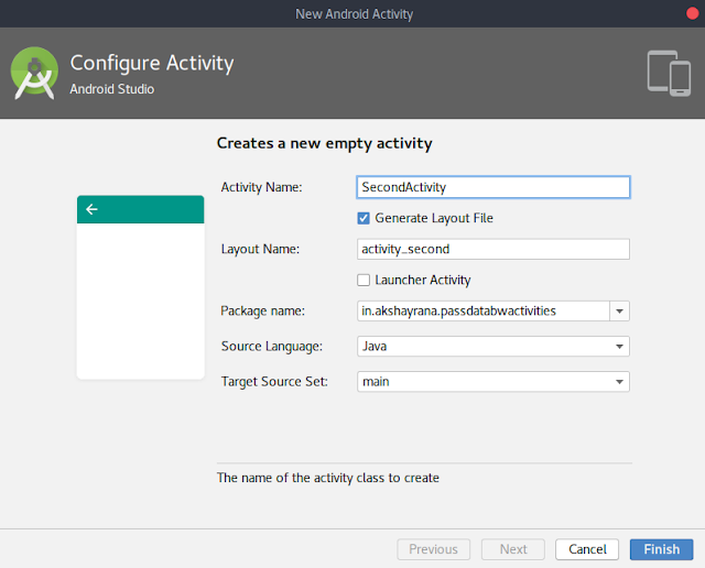 create new activity in android studio