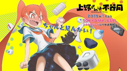 Ueno-san Wa Bukiyou Todos os Episódios Online