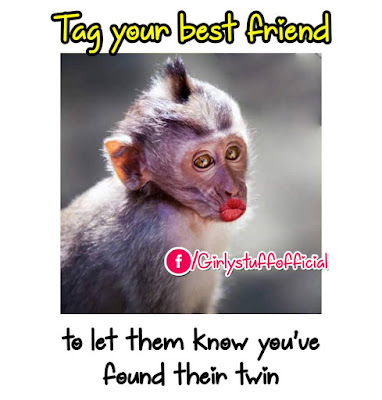 Tag your best friend to let them know you've found their twin