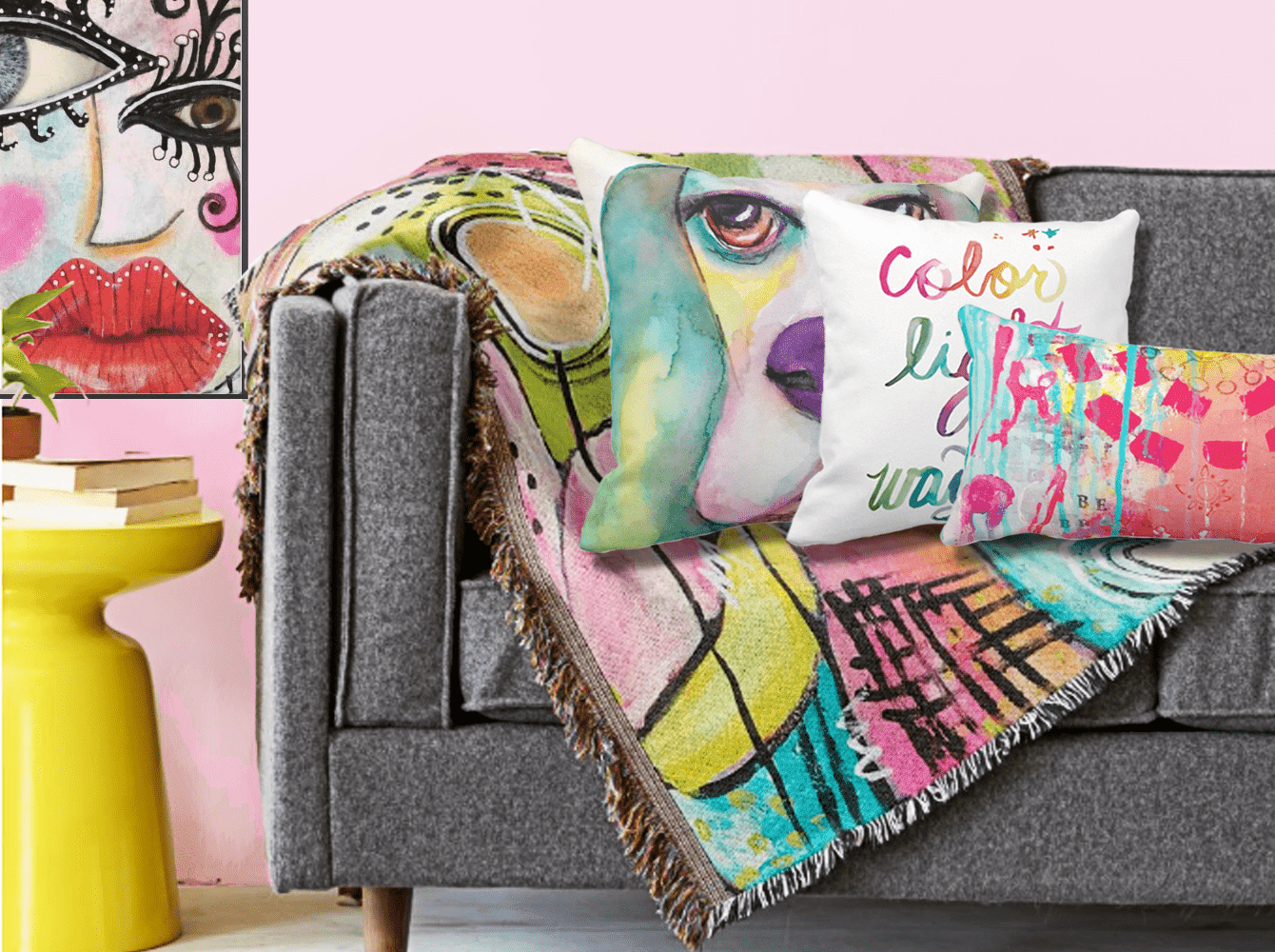 Fun Colorful Home Accents to Brighten up Your Space