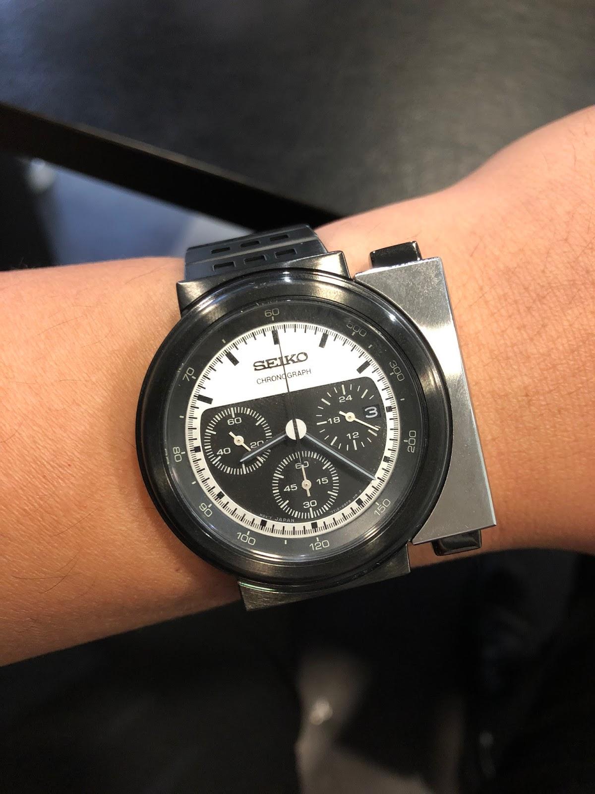 b4d4ea340711 My Eastern Watch Collection  Seiko Spirit Chronograph Giugiaro ...