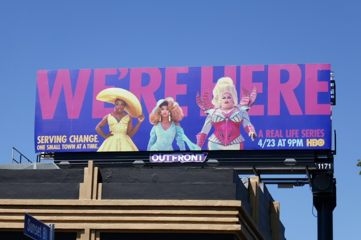 Were Here series premiere billboard