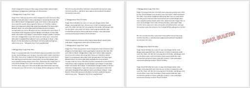 format column text