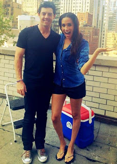 Rory Mcilroy Doing The Ice Bucket Challenge With Rumored Ex Girlfriend Meghan Markle
