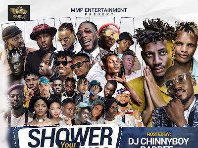 🔥MIXTAPE: Vdj Chinny Boy - Shower Your Blessing Mixtape