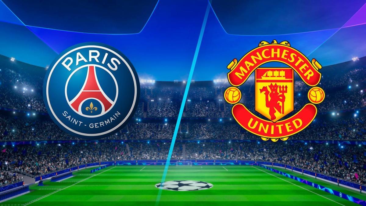 موعد مباراة مانشستر يونايتد ضد باريس سان جيرمان والقنوات الناقلة في دوري أبطال أوروبا