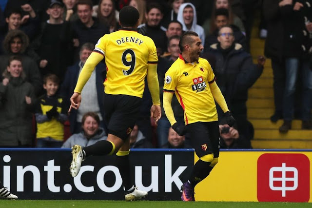 Troy Deeney et Watford continuent leur très bon parcours en Premier League