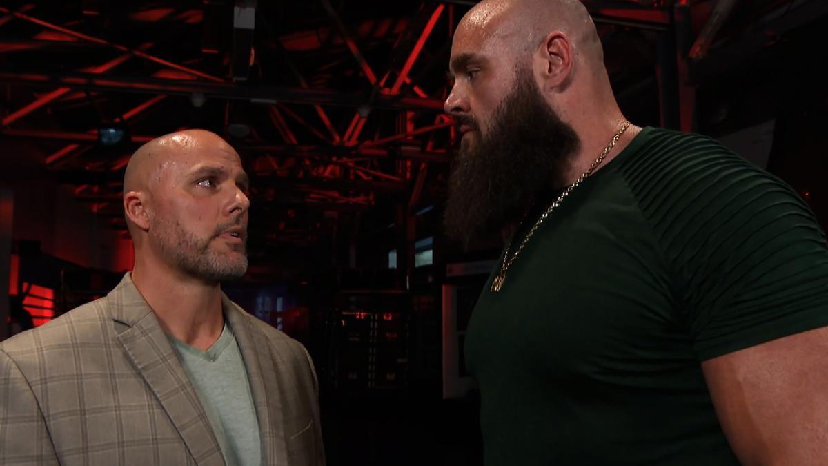 Shane McMahon custa o RAW Tag Team Championship a Braun Strowman