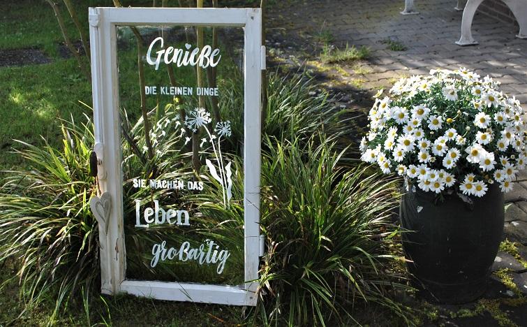 Gartendeko Seelensprüche