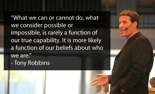 Tony Robbins quote 2