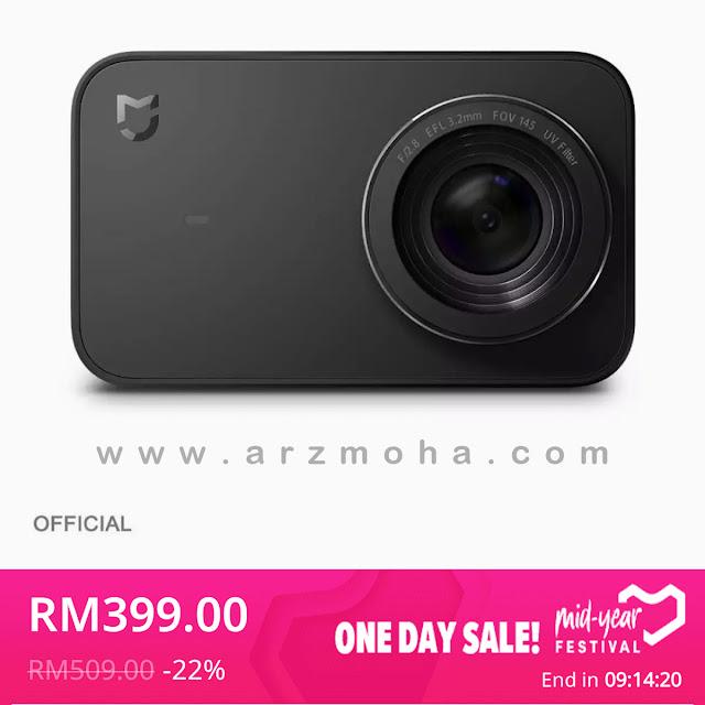 xiaomi action camera 4k, selamatkah membeli di lazada, selamatkah pembelian secara online, tips membeli secara online,