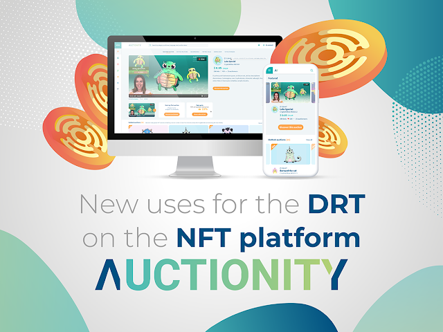 NFT platform Auctionity to expand DRT usage, adopt fiat payments
