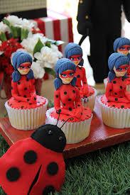 Doces Ladybug festa