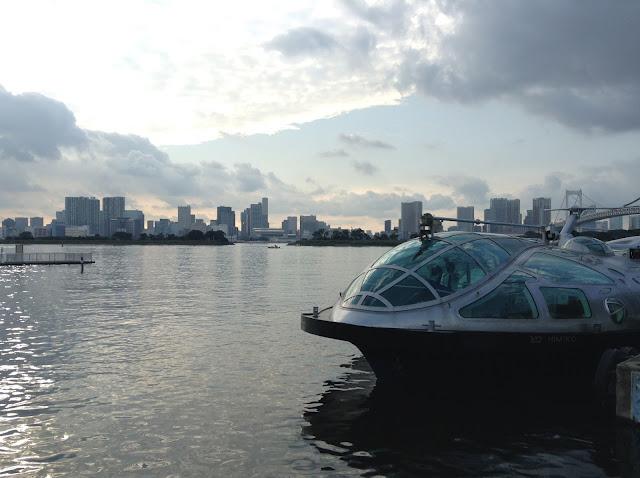 Odaiba cool boat