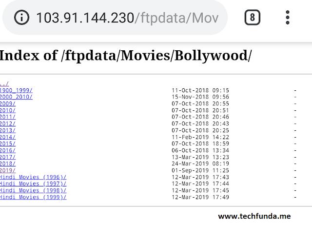 index of movie