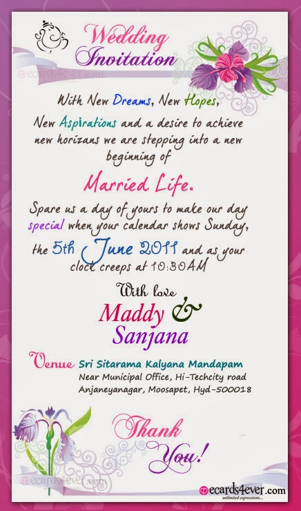 Online Indian Wedding Invitations is great invitation sample