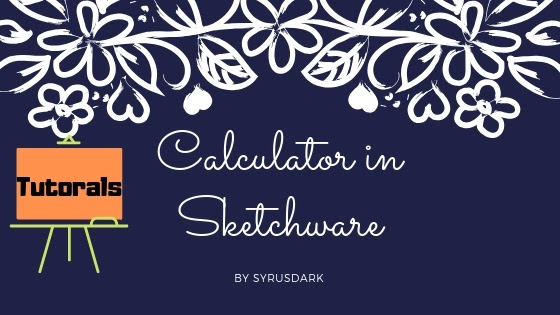 Make calculator in sketchware