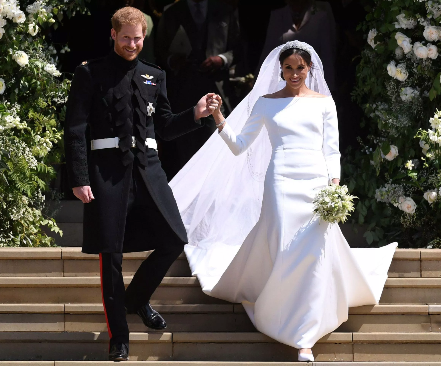 What The Groom Wore Prince Harrys Frock Coat
