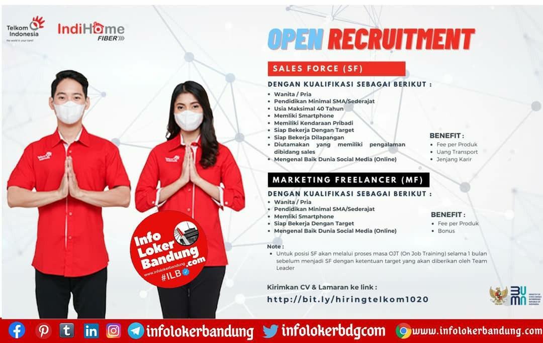Lowongan Kerja Telkom Indohome Bandung Oktober 2020