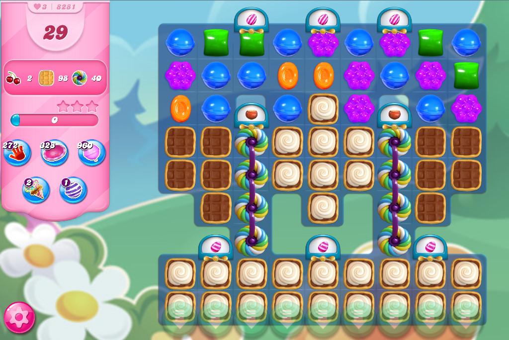 Candy Crush Saga level 8281