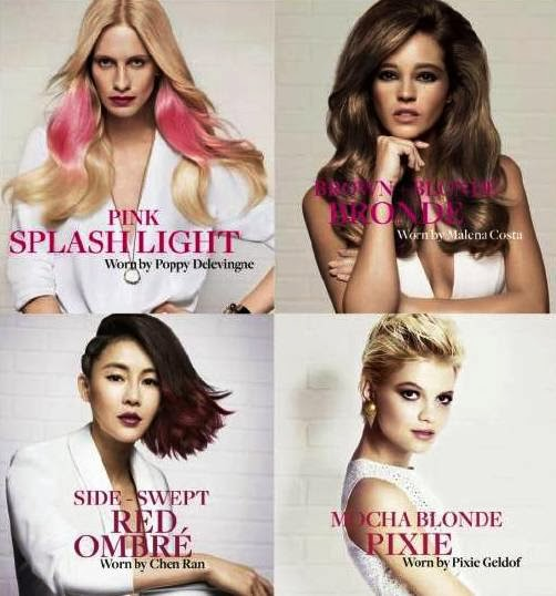 Spring Summer 2014 IT Look, Hair Color, Hair Cut, Style Trends