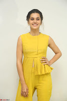 Taapsee Pannu looks mesmerizing in Yellow for her Telugu Movie Anando hma motion poster launch ~  Exclusive 125.JPG