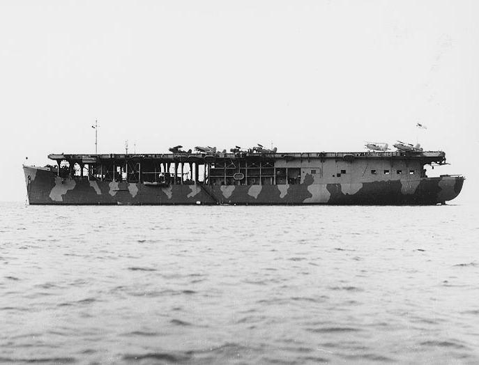 11 February 1941 worldwartwo.filminspector.com USS Long Island