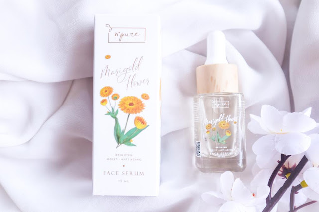 Review N'Pure Marigold Serum