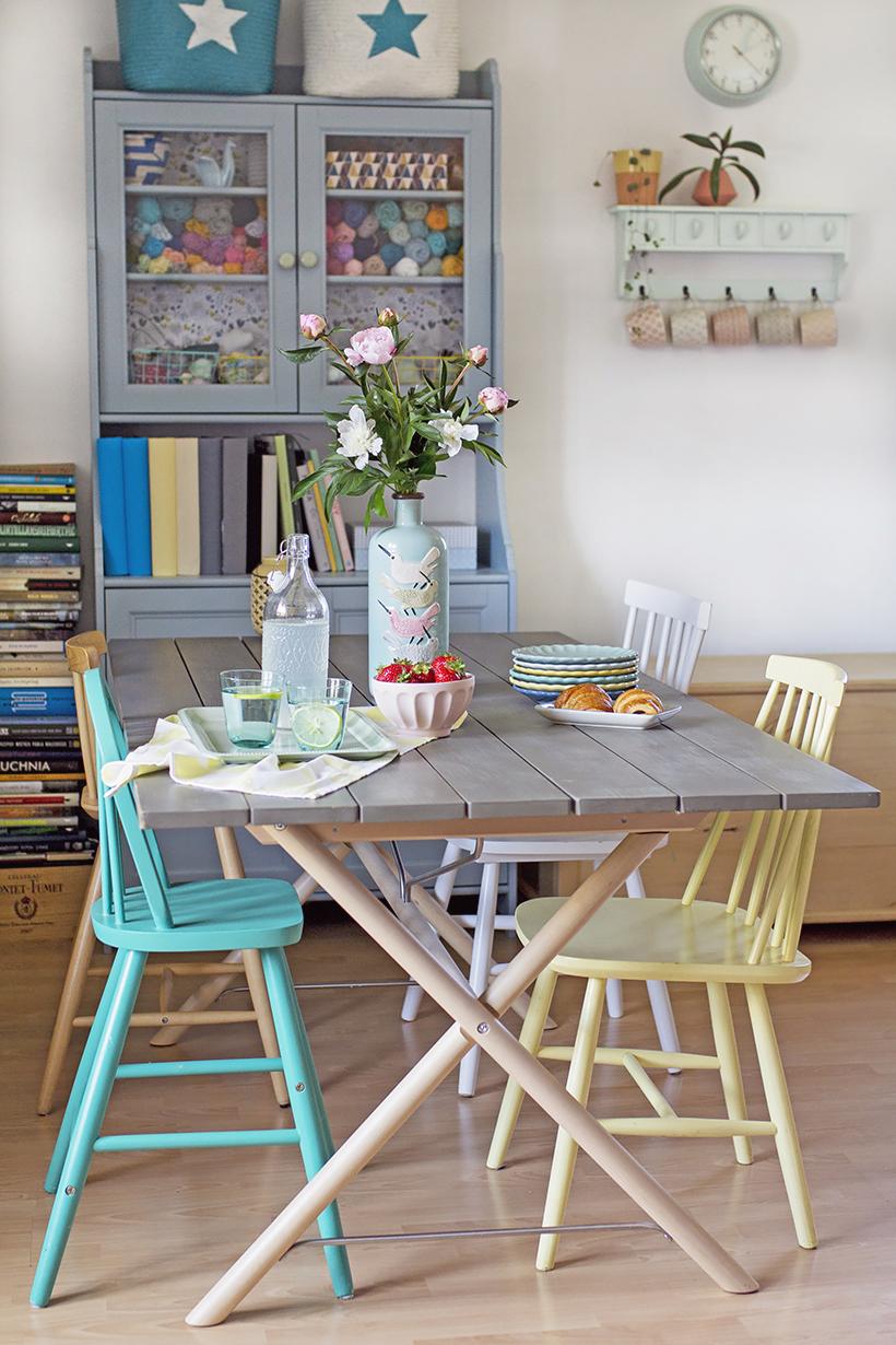 Mój Nowy Stary Stół Czyli Mariaż Ikea I Olx Gu Tworzy