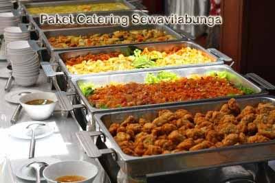 Paket Menu Catering Laris Villa Istana Bunga lembang bandung