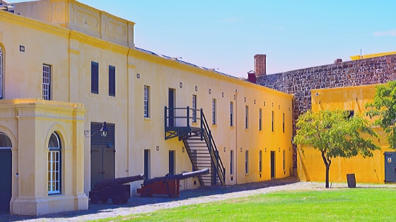South Africa's oldest building name is the Castle of Good Hope in Cape Town. It was built by the Dutch East India Company, between the years 1666 to 1679.