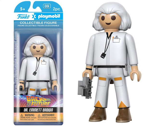 Funko Playmobil Regreso al futuro Dr. Emmett Brown