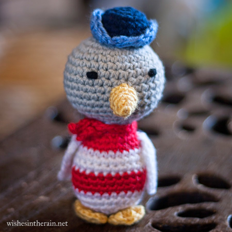Free Pattern Sailor Seagull Wishes In The Rain