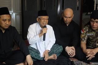 KH Ma'ruf Amin Usulkan Nama Muslim Untuk Deddy Corbuzier, Apa saja?
