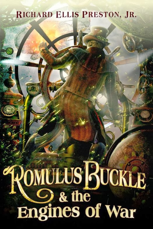 Review: Romulus Buckle & the Engines of War by Richard Ellis Preston, Jr.