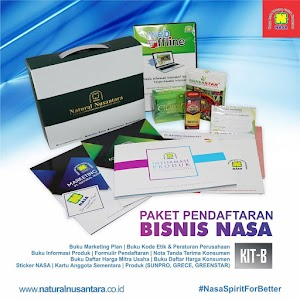 Isi Paket Pendaftaran Distributor Baru Nasa