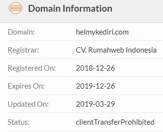 cek umur domain