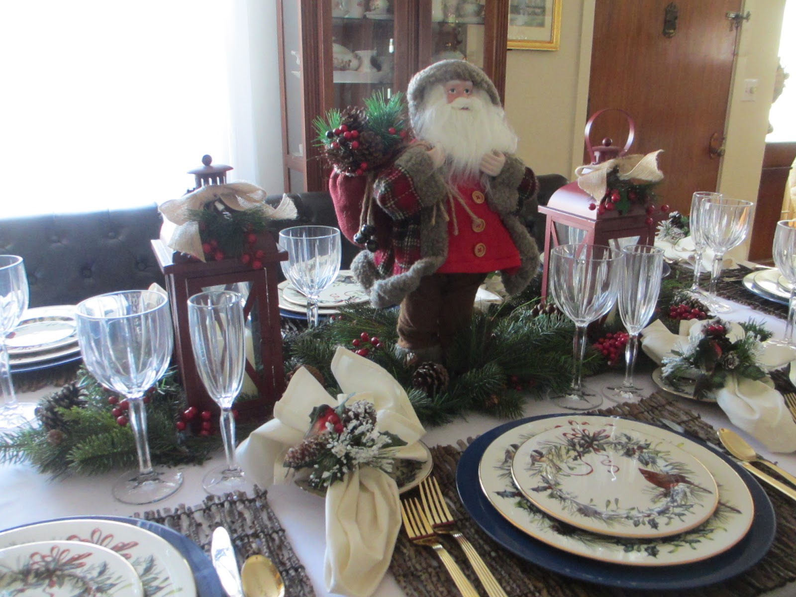 The Welcomed Guest Lenox Winter Greetings Tablescape
