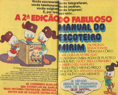 MANUAL DO ESCOTEIRO MIRIM (EDITORA ABRIL)