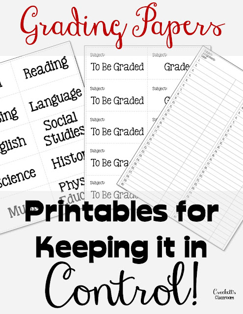 Keep your paper grading in control with these simple ideas.