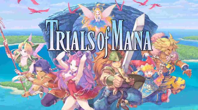Game Trials of Mana Dirilis Untuk PS4, Switch, PC Tahun 2020