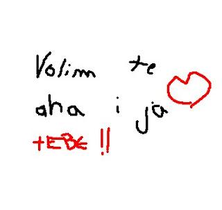 Ljubavne Slike: Volim te