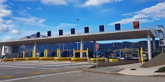 Νέες τιμές στα διόδια από το νέο έτος στον αυτοκινητόδρομο Κόρινθος - Τρίπολη - Καλαμάτα - Σπάρτη